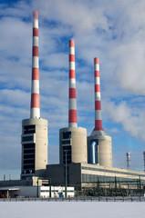Kraftwerkstürme - Hochformat