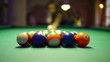 HD - Billiards. First shot