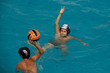 boy playing waterpolo