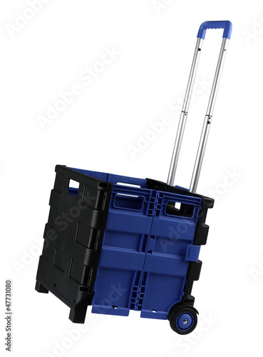 Roller container with isolated