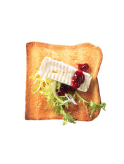 Toast and French cheese