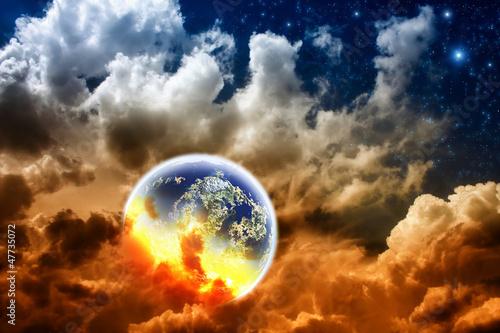 Leinwandbild Motiv Apocalypse