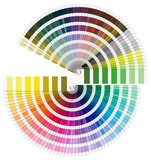 Pantone Color Palette - Semicircle