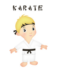 Boy Karate