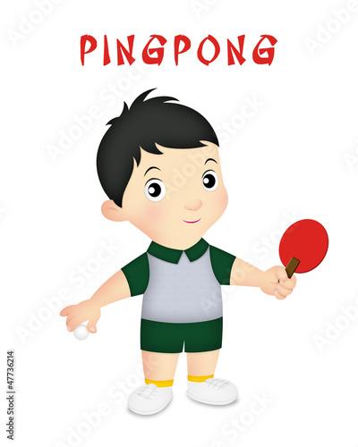 Boy Pingpong