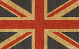 Textured UK flag