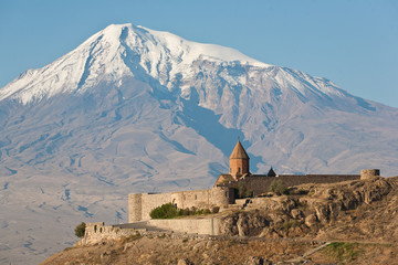 Ancient Armenian church Khor Virap