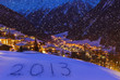 2013 on snow at mountains - Solden Austria