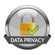 Vector Button Data Privacy