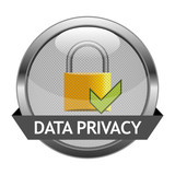 Fototapety Vector Button Data Privacy