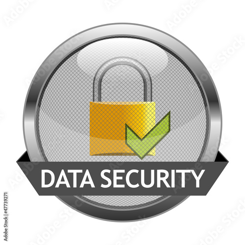Vector Button Data Security