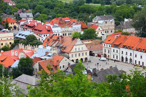 Panel Szklany Kazimierz Dolny, Poland