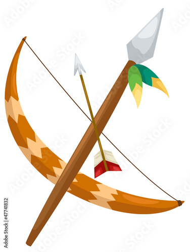 Indian archer vector