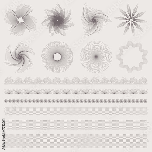 Vector set: watermark