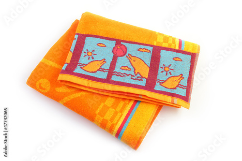 Child's beach towel