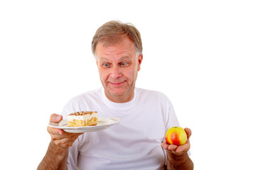 Apfel oder Kuchen?
