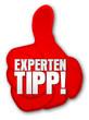 Experten-Tipp, Daumen, Vektor