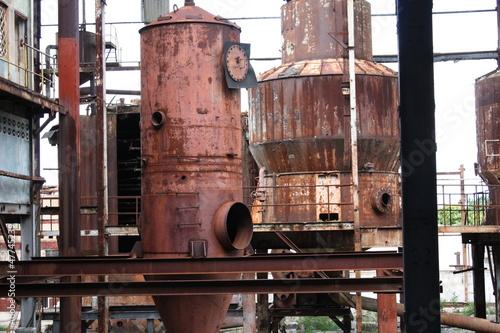 Rusty Vats