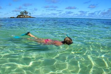 Snorkeling aux Seychelles