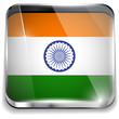 India Flag Smartphone Application Square Buttons