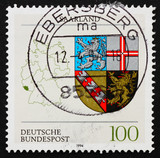 Postage stamp Germany 1994 Coat of Arms of Saar