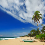 wild deserted beachs of Sri lanka