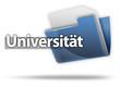 "3D-Style Mappe ""Universität"""