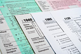 U.S. Income Tax Return forms 1040,1065,1120