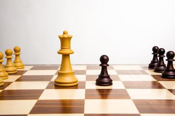 scacchiera regina pedone