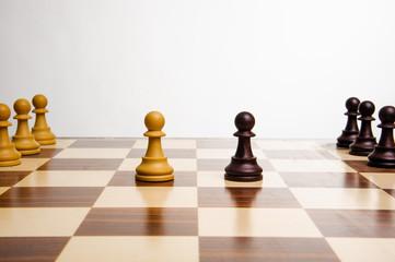 scacchiera pedoni