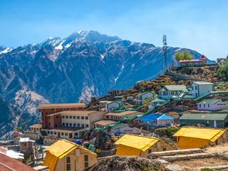 Mountain camp - Himalayas