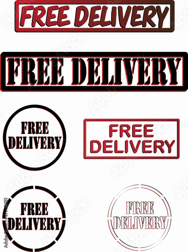 FREE DELIVERY SIGNS
