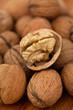 walnut on wooden table