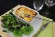 Gratiné de Légumes et Salade verte