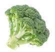 Vegetables, fresh broccoli on a white background.