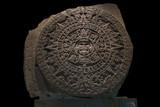 Mexica Sun Stone - Fine Art prints
