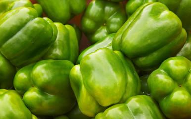 Green Bell Pepper Pile