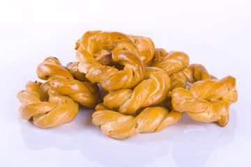 Luigi's Mother made these Taralli