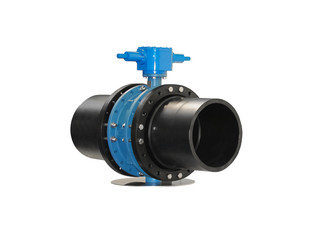 High pressure stop valves with manual drive