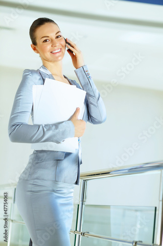 portrait of a confident young businesswoman
