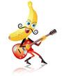 バナナのギタリスト