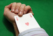cheating with an ace of hearts in the hole