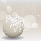 Winter background vector illustration in champagne color