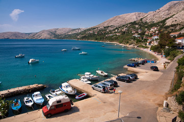 Seaside at Stara Baska in Krk - Croatia