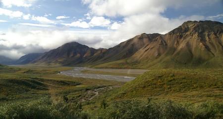 Paysage d'Alaska