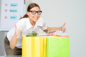 erfolgreiche shoppingtour