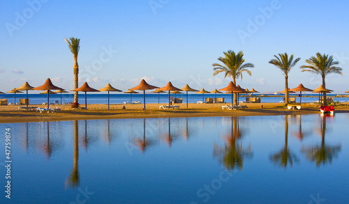 Plexiglas Egypte Beach in Egypt