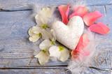 Fototapety Zarter Liebes-Gruß zum Valentinstag