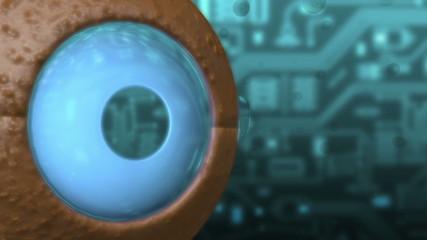 Auge - mechanisch - Energie