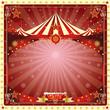 Christmas card circus